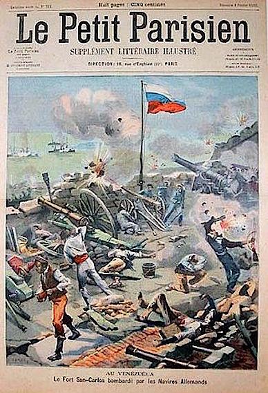 german boats bomb venezuela 1902-03