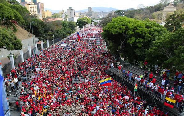 venezuelans against imperialism