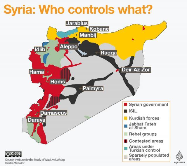 Syria as viewed by Al Jazeera