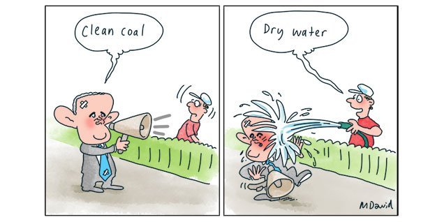 clean coal...