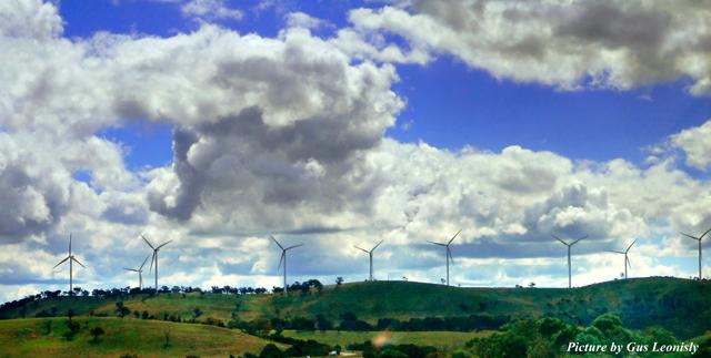windmills of power...
