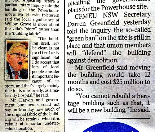DTs union bashing