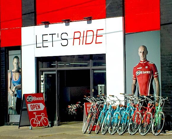 on yer bikes