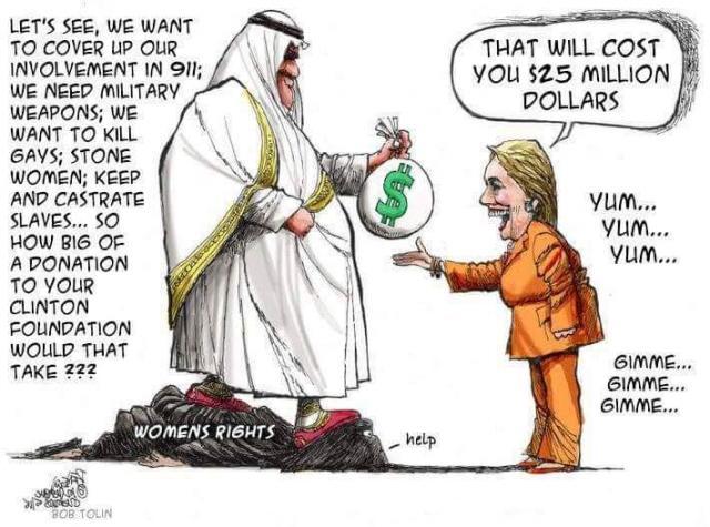 clinton saudis