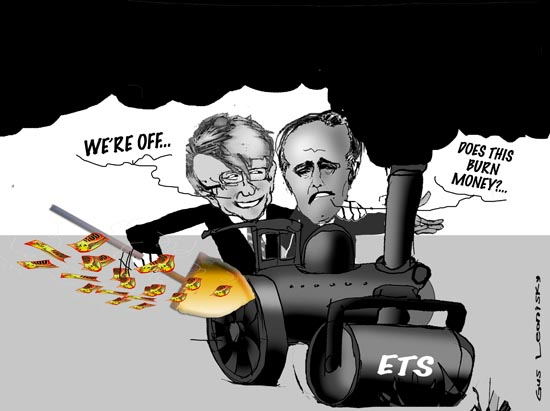 ETS ON THE MOVE
