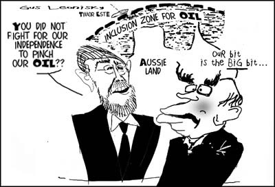 freedom for oil?