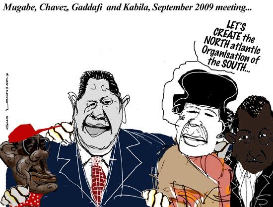 gaddafi chavez