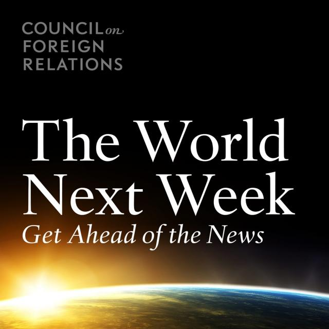 This week on the New World Next Week …