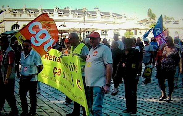 strike in France...