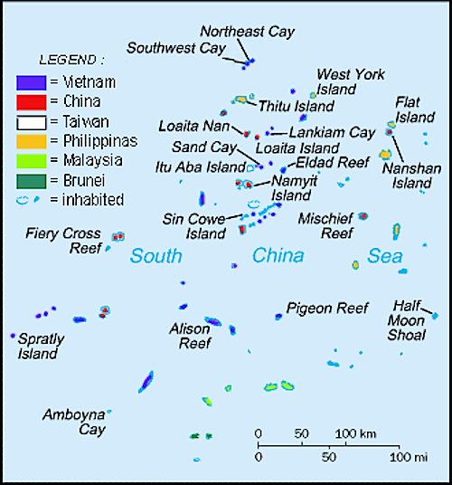 military bases - spratly islands