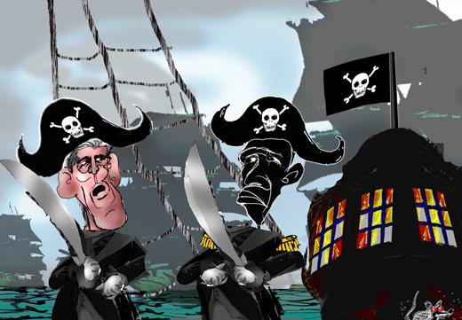 piracy..