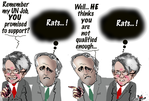 rats...