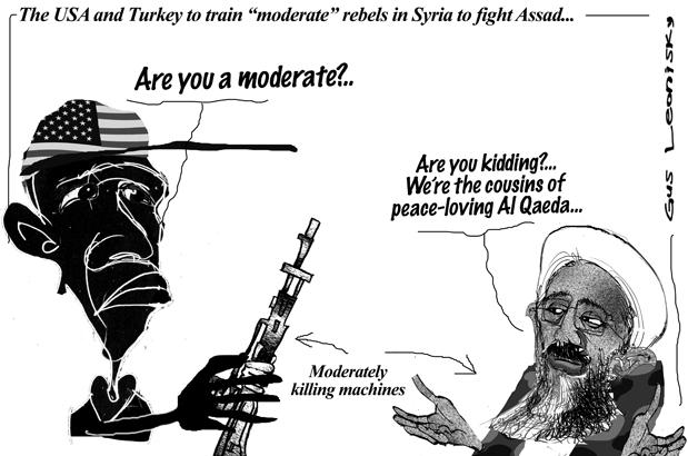moderate war...