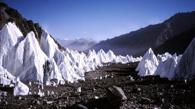 chinese glacier melt