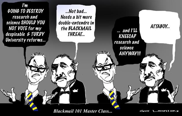 blackmail class