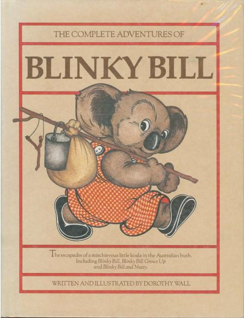 the world of 'blinky bill' .....