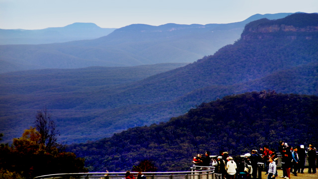 blue mountains, sydney.