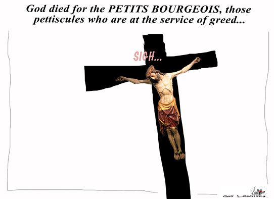 religion and the bourgeois...