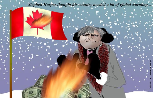canada warming too