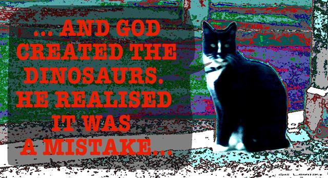 evil cat...
