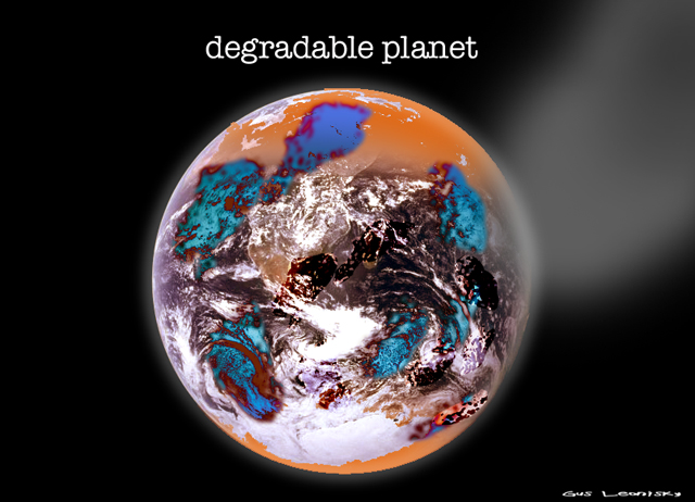 degradable planet
