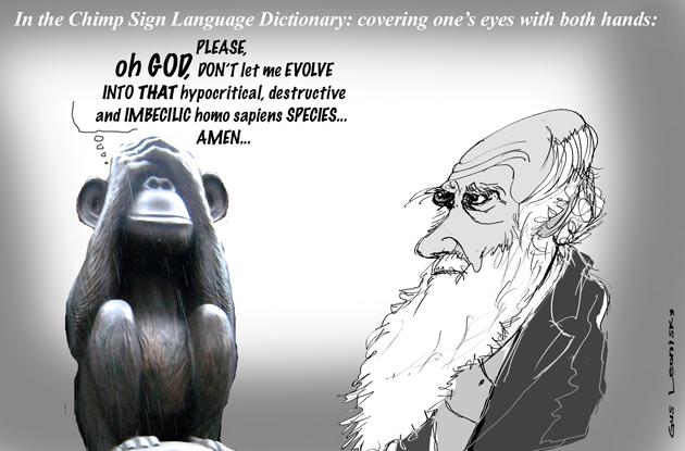 darwin's chimps