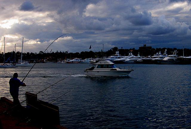 harbour...