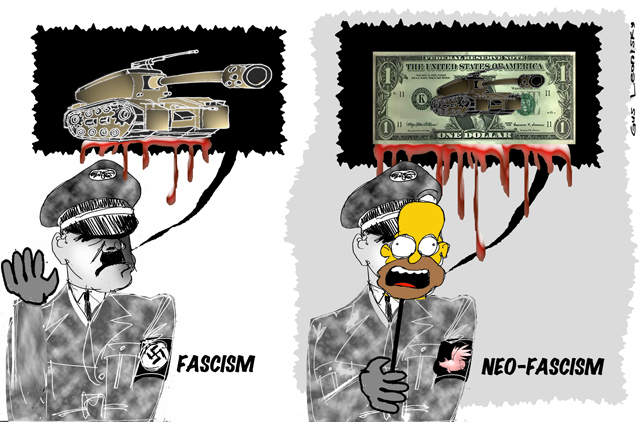 the difference between fascism and neo-fascism