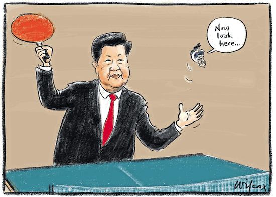 pong diplomacy