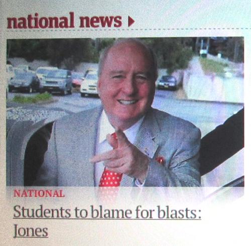 jones is an idiot