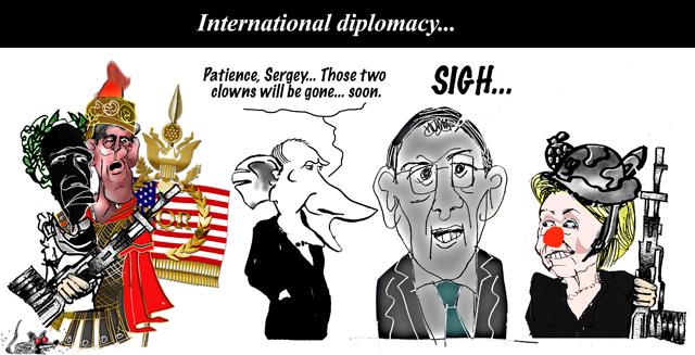 diplomacy...