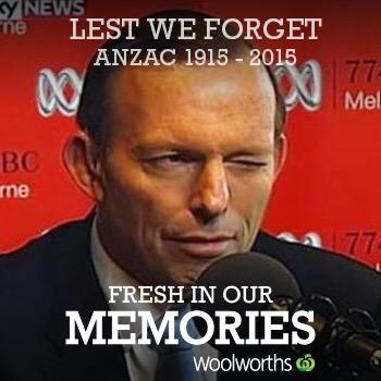 lest we forget .....