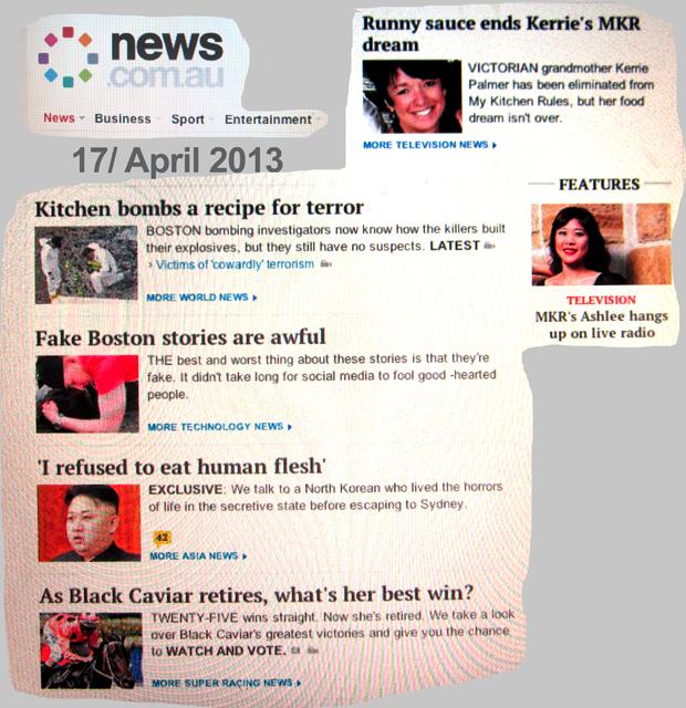 news.com.au 17 april 2013