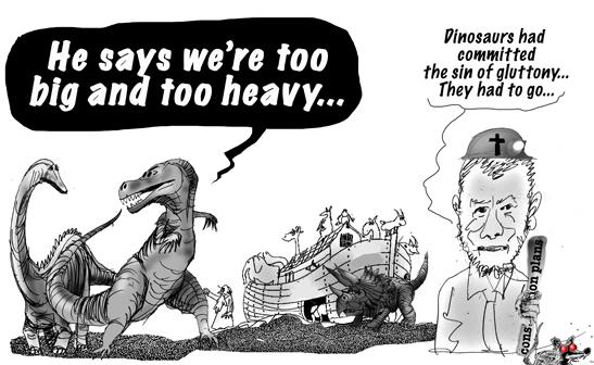 sour dinosaurs...