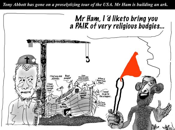 tony's religious budgies.
