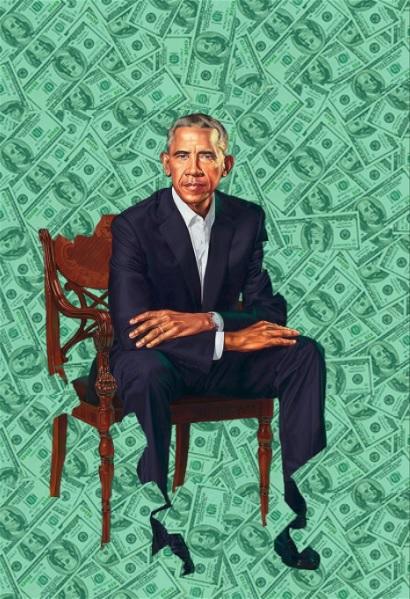 obama cash...