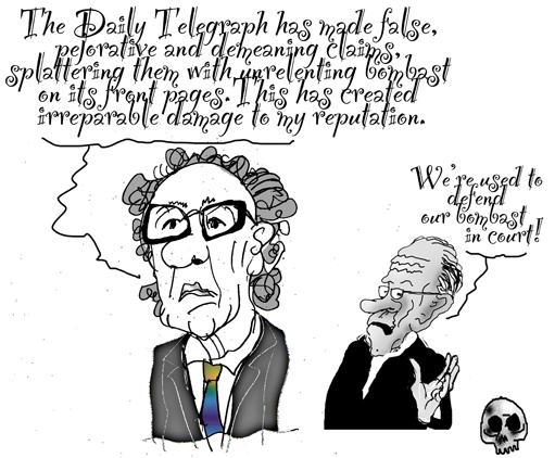 rush versus rupert