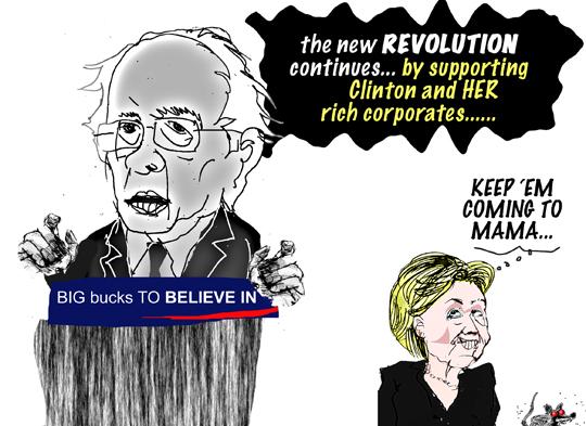on revolution...