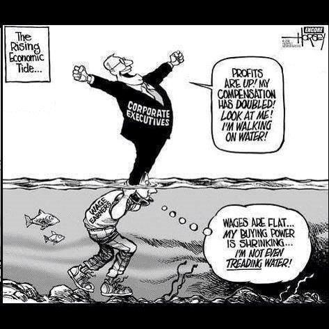 the rising tide .....