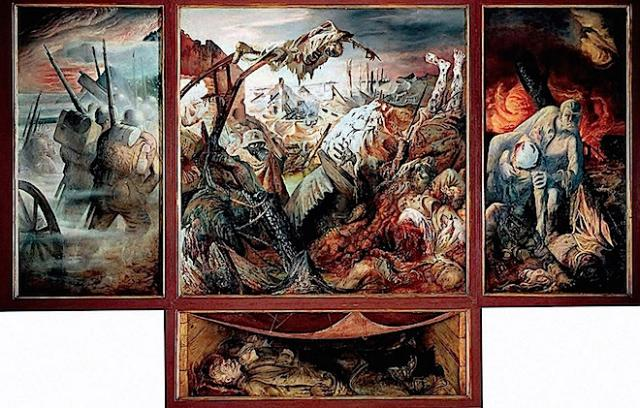 the war, by otto dix