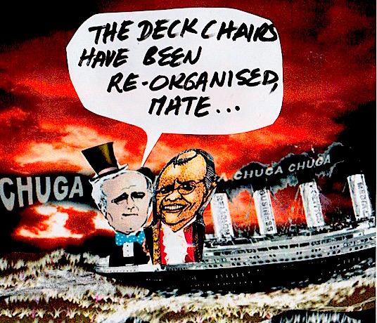 titanic struggle...