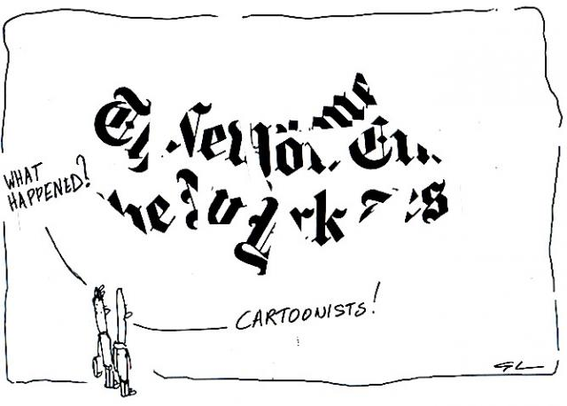 cartoonists