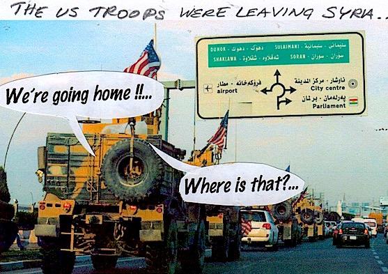 us troops...