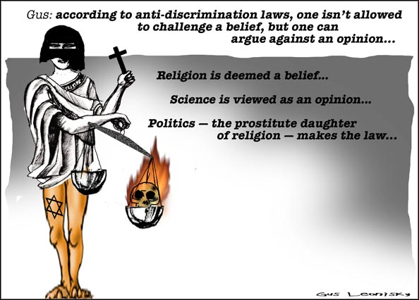 politics and religion...