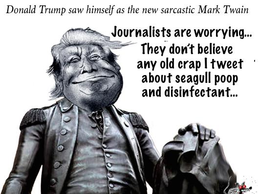 trump sarcasm