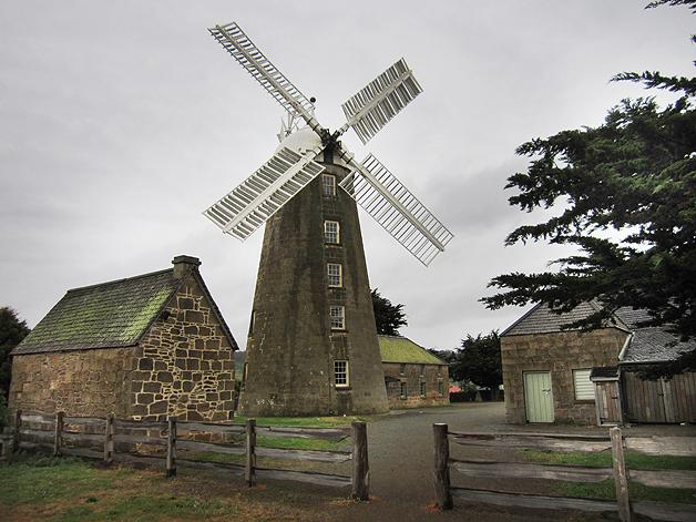 windmill in tasmania